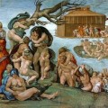 The  Great Flood by Michelangelo, Sistine Chapel ceiling, 1508-1512